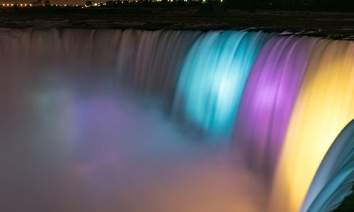 Illumination of the Falls
