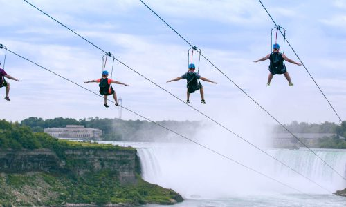 Zipline to Falls