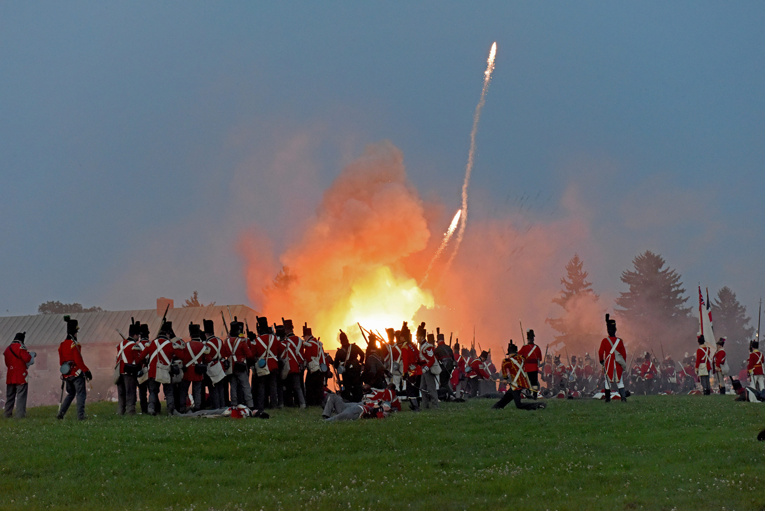 32nd Annual Siege of Fort Erie Battle Re-Enactment Weekend  Copy