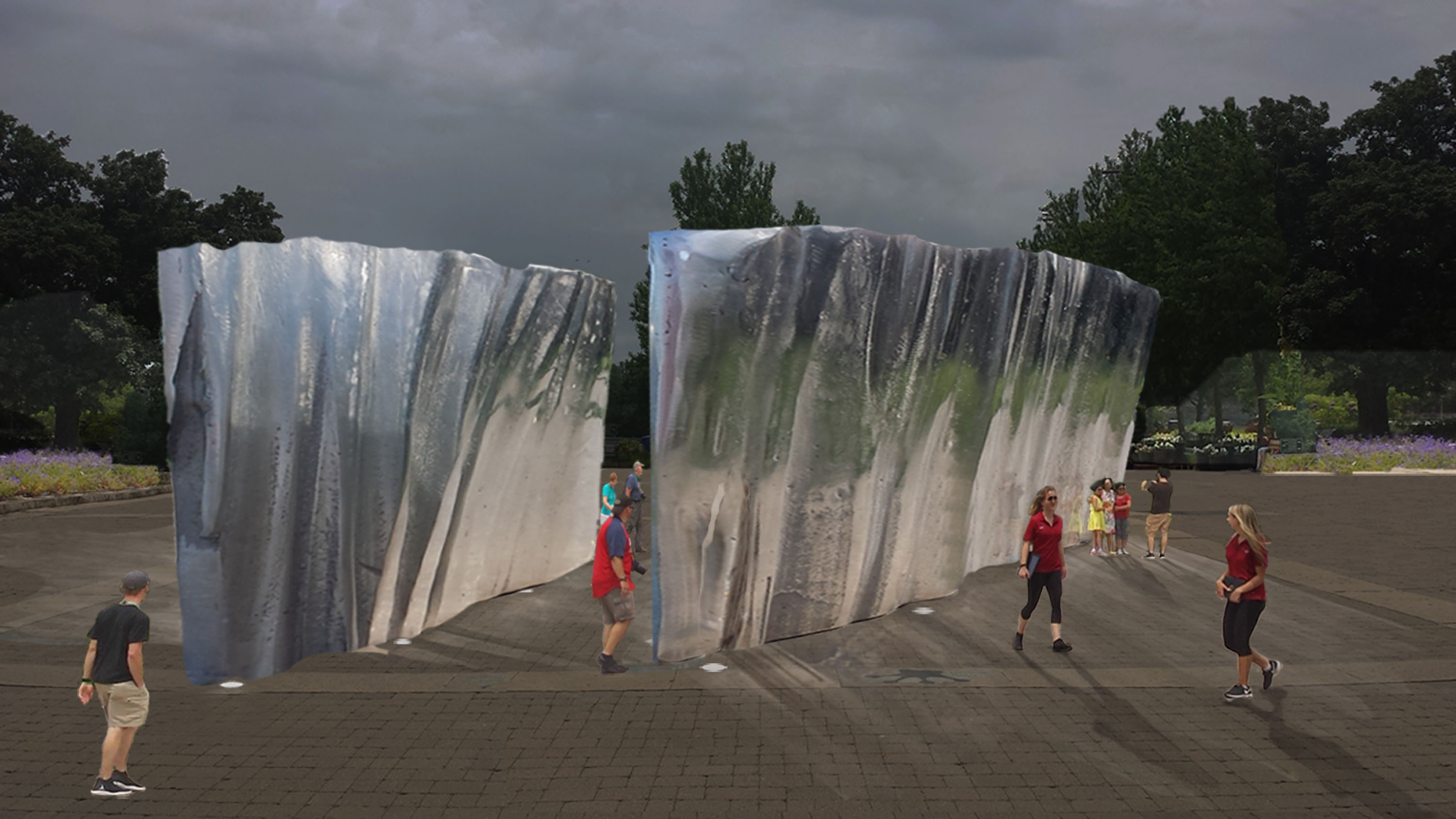 Niagara Parks Unveils Winning Design for Public Art Installation at the Botanical Gardens