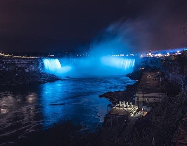 """""""Niagara Falls always amazes me"""" ✨ Photo: @michaelbrook  #NiagaraParks"""