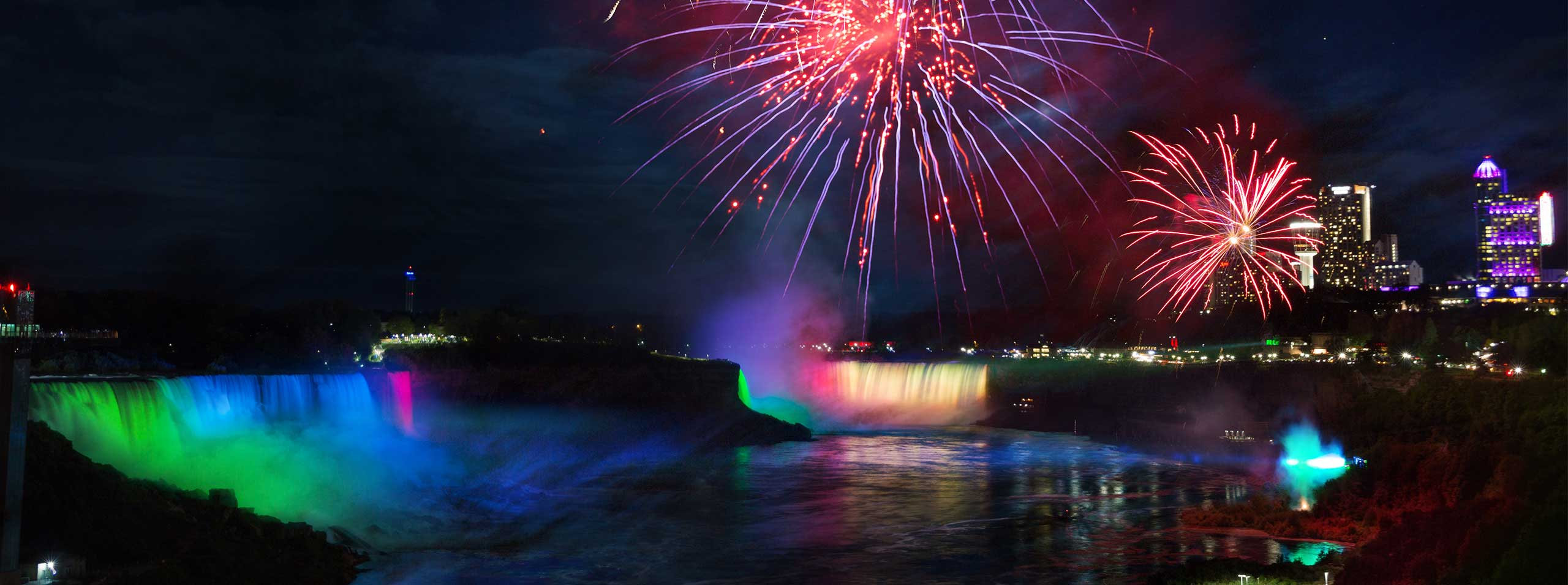 Niagara Parks Announces 2019 Schedule for the Annual Falls Fireworks Series