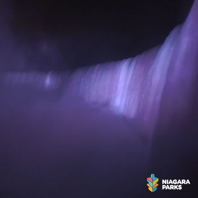 Every evening beginning at dusk, Niagara Falls is transformed into an incredible