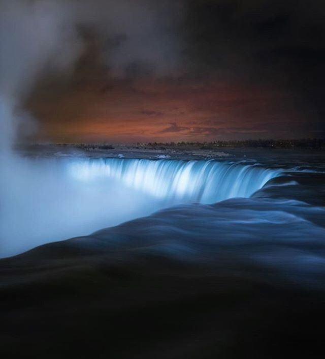 Tomorrow evening, Niagara Falls will switch off the lights to mark #EarthHour &#