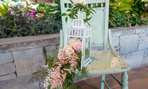 Summer Floral Lantern