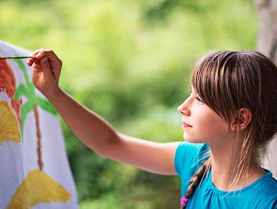 Children's Paint Corner