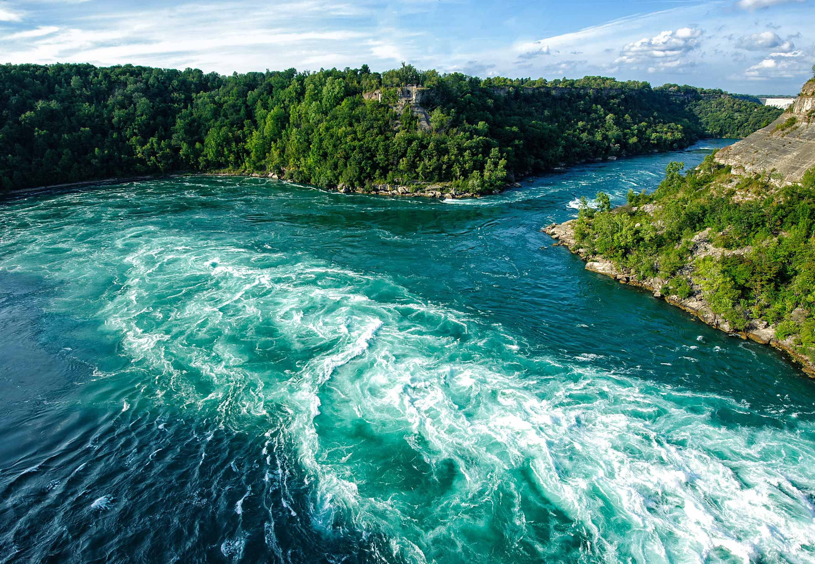 Faire du vélo le long de la rivière Niagara n'avait jamais été plus facile