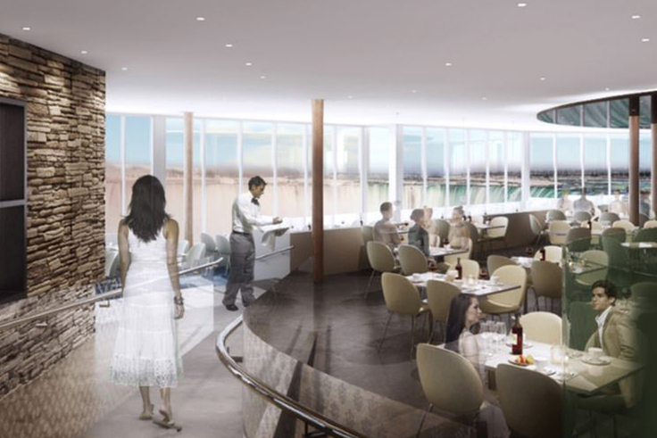 Rendering of Table Rock House Restaurant