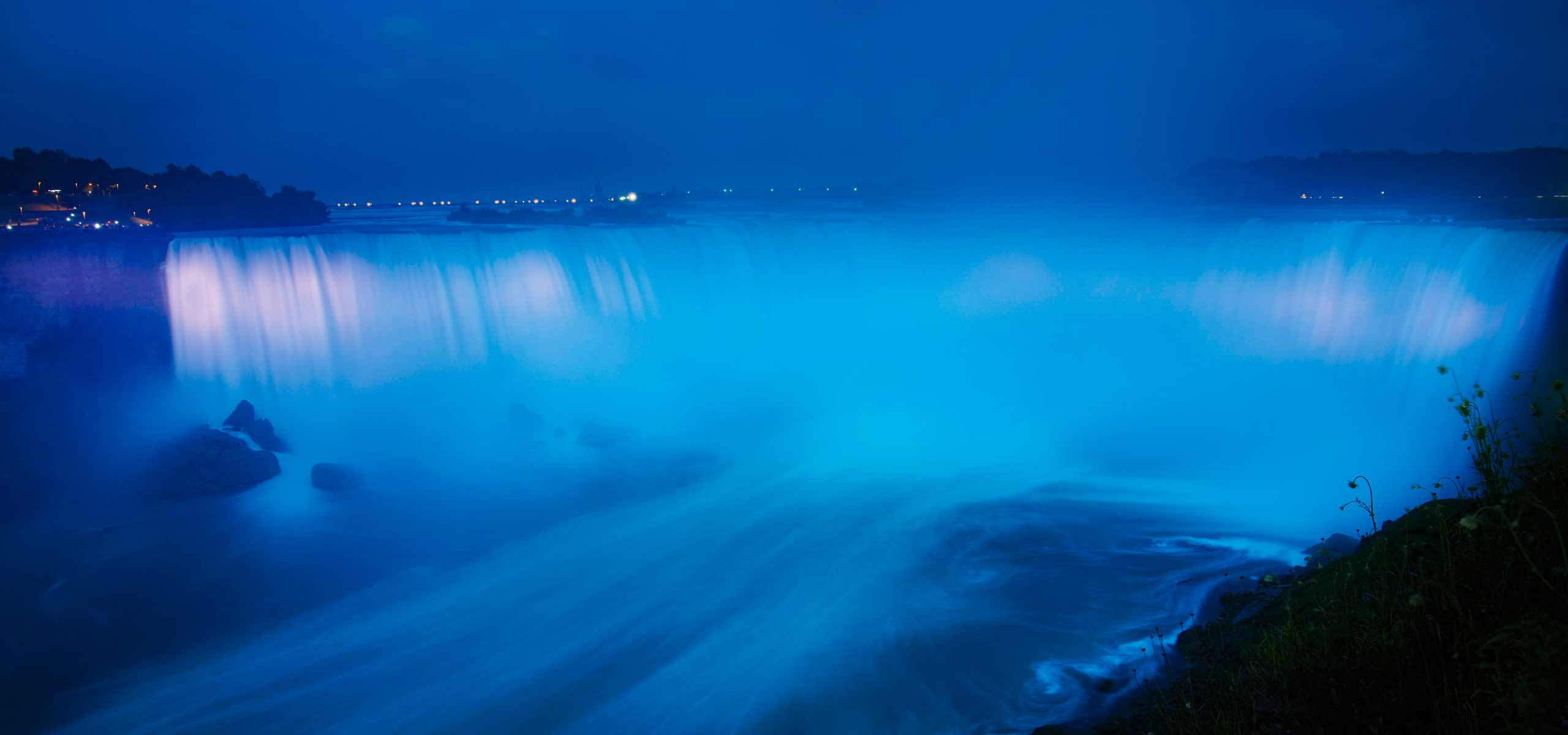Niagara Falls to be Illuminated in Blue in Honour of the Royal Birth