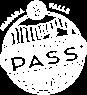 White adventure pass icon.