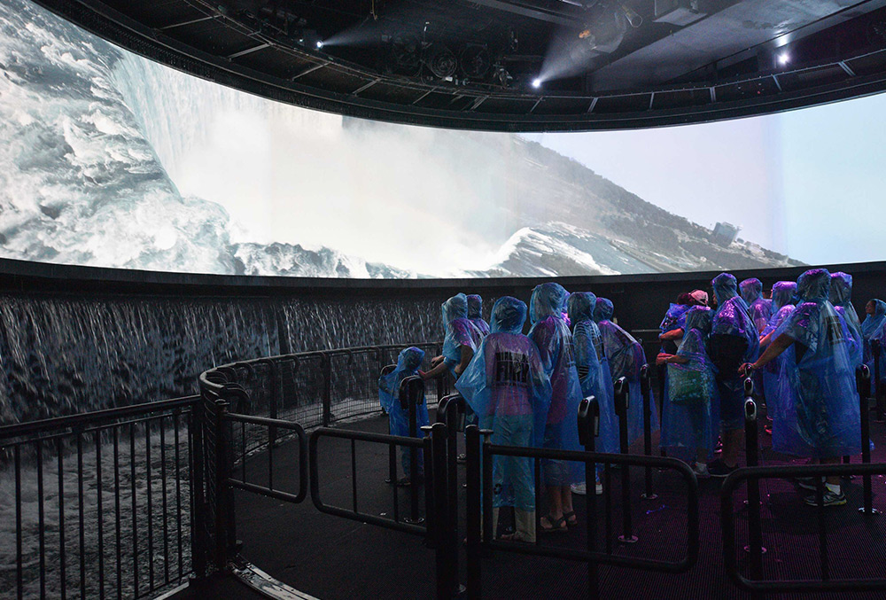 Experience Niagara's Fury at Table Rock Centre