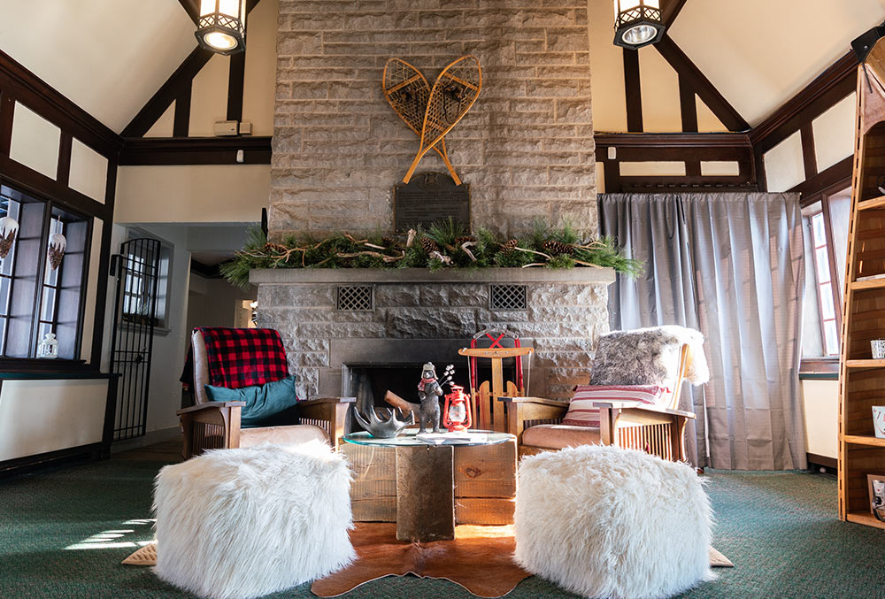 Great Canadian Winter Lodge