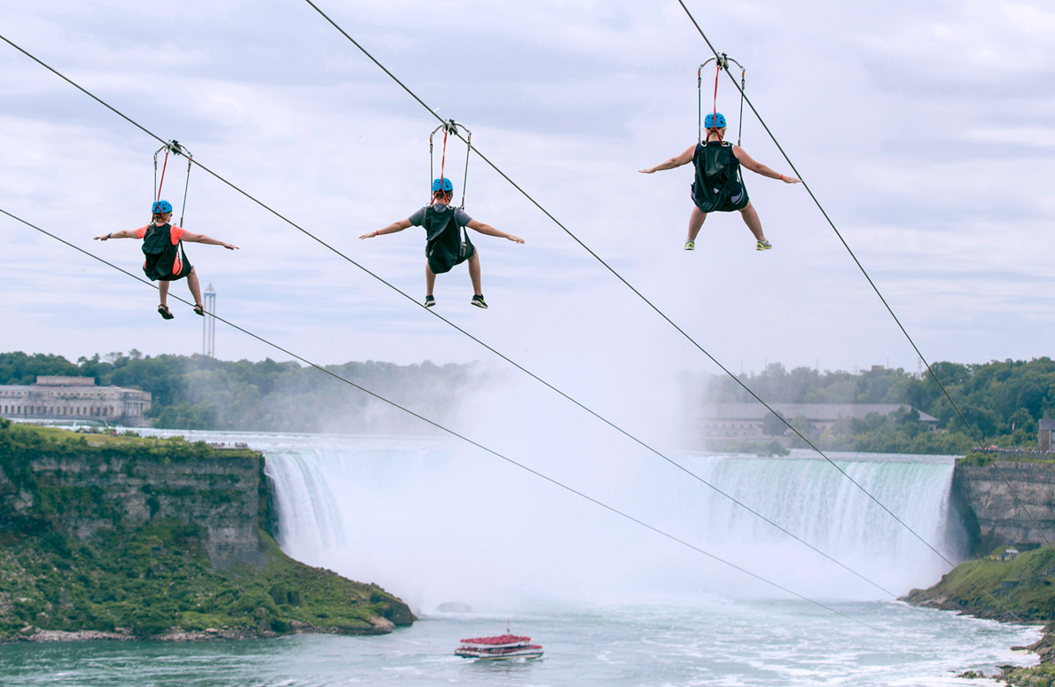 5. Zipline to the Falls