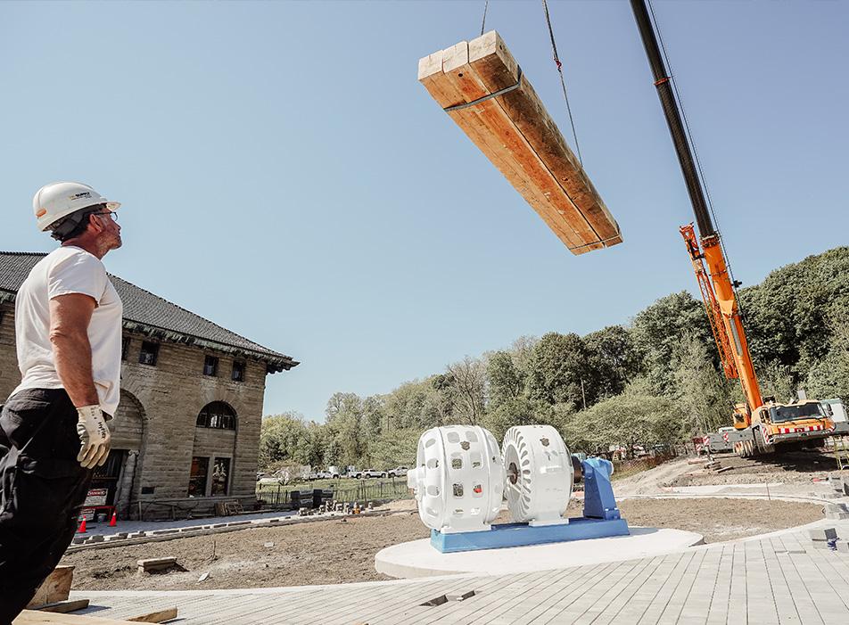 Power Plaza Construction