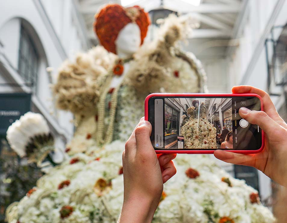 Fleurs de Villes Niagara Falls <span>Self-guided floral festival</span>
